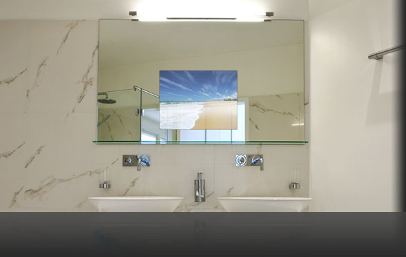 Crystal Led Mirror Light Bathroom Toilet Waterproof Home: Waterproof Bathroom Television