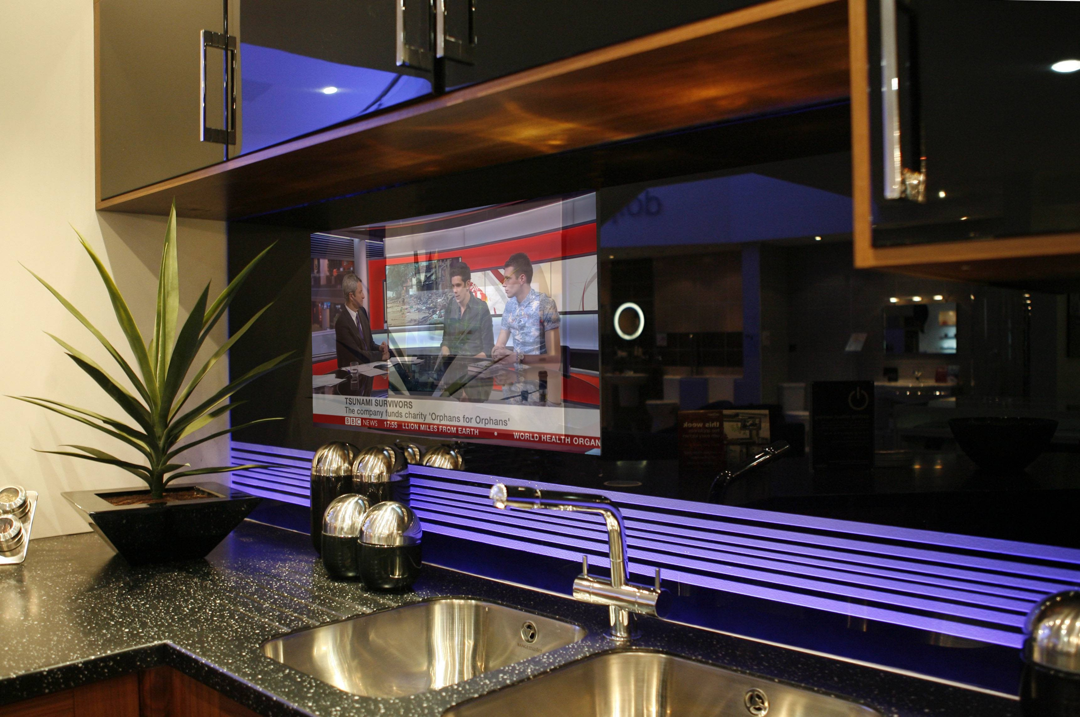 Kitchen Splashback Television By Techvision Page