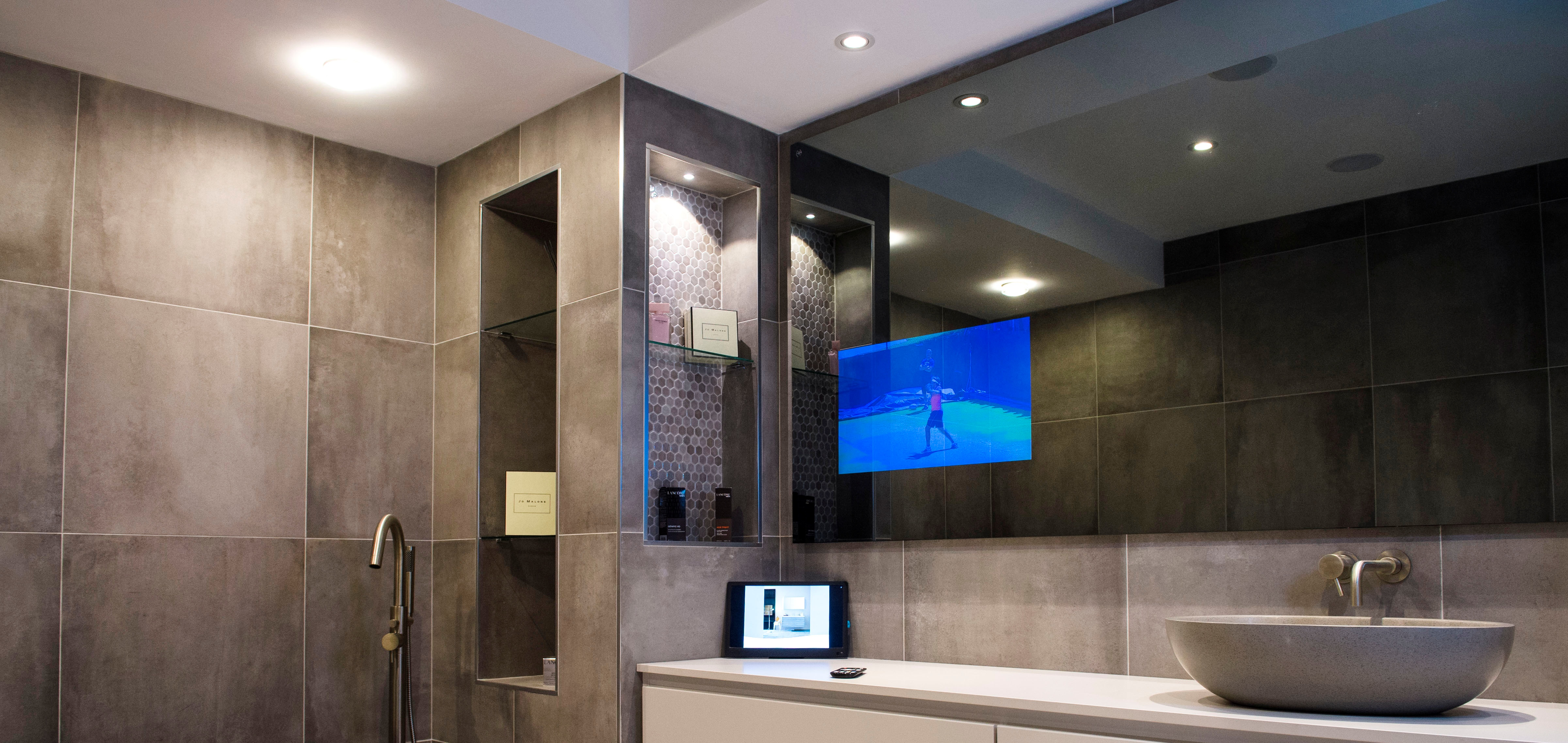 Vanity Mirror Television By Techvision Page