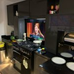 "Sony 43"" kitchen splashback"